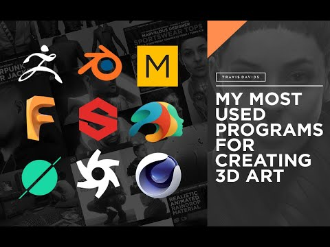 My Most Used Programs For Creating 3D Art