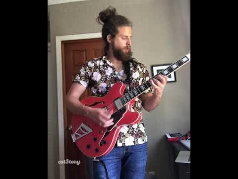 Guitar cover to Greek guitar great- Aris San