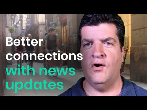 Real Estate - Better connections with news updates -  Video Marketing Tip #2