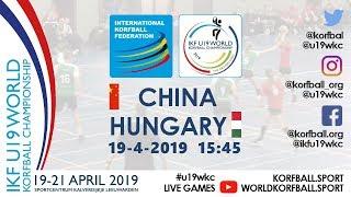 IKF U19 WKC 2019 CHN - HUN
