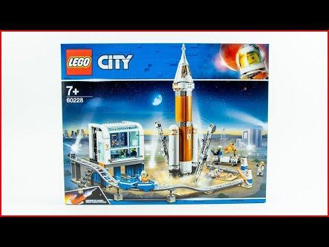 Vidéo LEGO City 60228 : La fusée spatiale et sa station de lancement