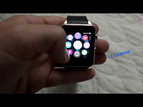 Super SmartWatch GT88 look like Apple Watch. GT88 support SIM Card, Camera and it's Waterproof