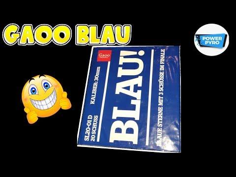 BLAU! - GAOO | FETTE 20 SCHUSS BATTERIE