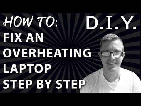 How to Fix an Overheating Laptop – Step by Step Fan Cleaning – HP Pavilion dv6500