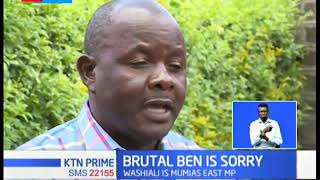 MP Washiali on the receiving end after being filmed attacking a man in Mumias