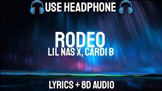 Lil Nas X, Cardi B   Rodeo (Lyrics  Letra  8D Audio Spanish  Bass Boosted)