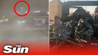 New Video Shows The Moment Iran Military Shoot Down Ukrainian Passenger Plane Killing 176 People