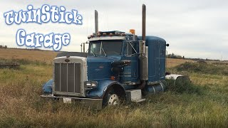 Peterbilt 359 Restoration Project Episode 1 Rescued From The Grave