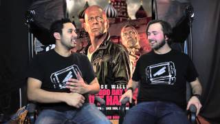 A GOOD DAY TO DIE HARD MOVIE REVIEW!!!