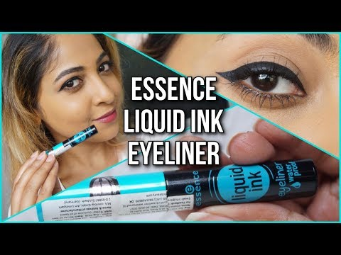 ESSENCE LIQUID INK EYELINER REVIEW | Stacey Castanha