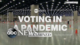 Voting in 2020 during COVID-19 l ABC News