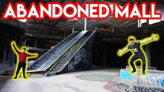 EXPLORING FAMOUS ABANDONED MALL (w/ Exploring With Josh)