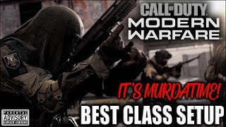 Playing with the BEST CLASS SETUP in MODERN WARFARE 🤬 Overpowered COD MW class setup HOW TO