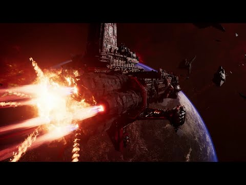 Battlefleet Gothic: Armada 2 - Battle Overview Part 1 Video