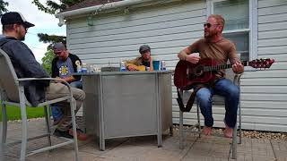"""""""Turn around"""" Whiskeytown cover by Barstool Prophets"""