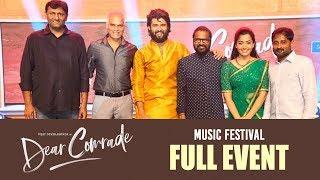 Dear Comrade Music Festival LIVE | Hyderabad | Vijay Deverakonda | Rashmika | Bharat Kamma