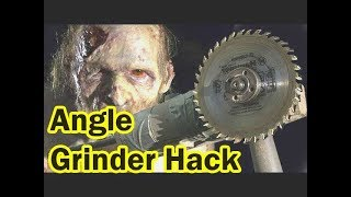 A Zombie Saw For Angle Grinder