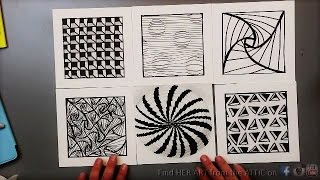 6 Optical Illusion Drawing Techniques & Patterns