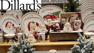 Dillard's Christmas Kitchenware * HOME DECOR SHOP WITH ME 2019