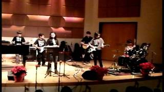 MMW Rock Ensemble - COVER - Radiant Eclipse - University of Miami - 12-10-11
