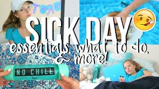 The Ultimate Guide for When You're Sick! What To Do When You're Sick!