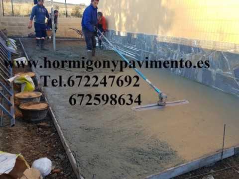 Ofertas Hormigon Impreso Hontoria de Valdearados,Burgos Tel.672247692