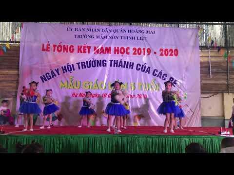 Lớp A6- Trường Mầm non Thịnh Liệt- Múa liên khúc tạm biệt búp bê
