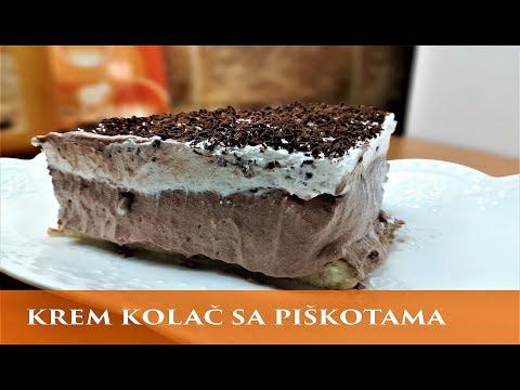 Kremasti kolač bez pečenja