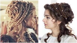 A Grecian Fantasy Hair Tutorial | Challenged By You!