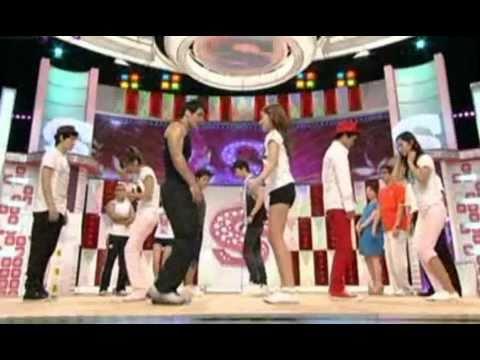 소녀시대 티파니 다리 운동법
