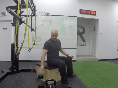 How To: Goblet Box Squat