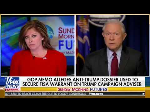 Maria Bartiromo asks very tough questions of Jeff Sessions