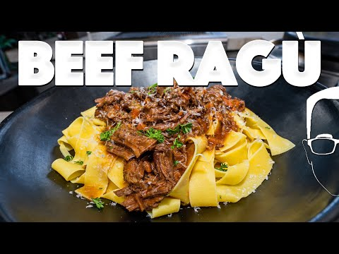 BEEF RAGU PASTA RECIPE (BETTER THAN BOLOGNESE?)