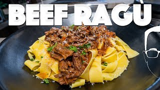 BEEF RAGU PASTA RECIPE (BETTER THAN BOLOGNESE?)   SAM THE COOKING GUY