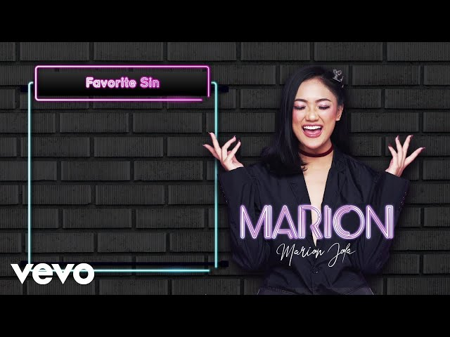 Marion Jola - Favorite Sin (Lyric Video)