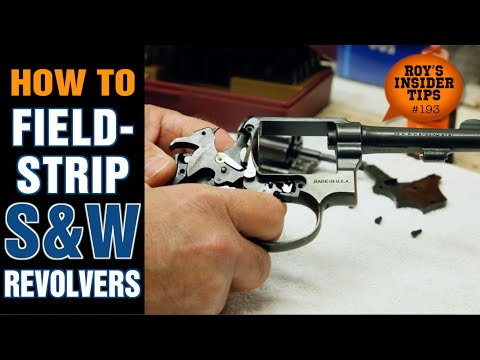 How To Field-Strip S&W Revolvers