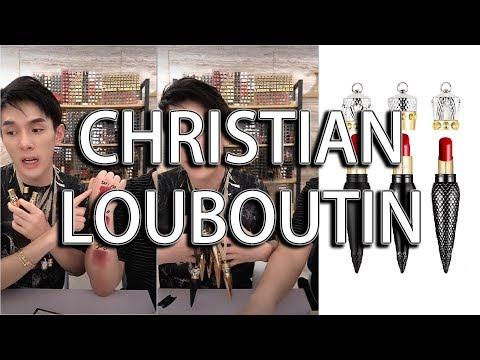 口紅一哥李佳琦 - CHRISTIAN LOUBOUTIN 系列 | 001M | 502M | 330M | 300 | 001S | 320 | 505M |