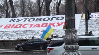 Протестанти хто? Члени Профспілки Укрспірту  чи тітушки?