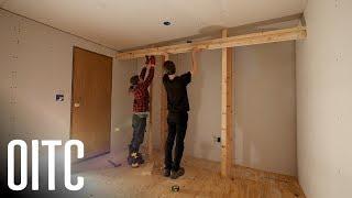 Minimalist Custom Closets + Finishing Drywall ⚡️ Home Renovation #9