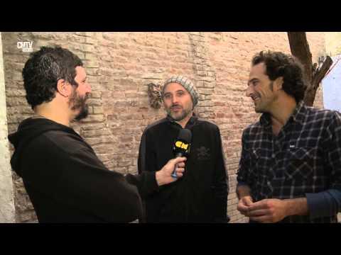 La Vela Puerca video Entrevista en Argentina - Junio 2015
