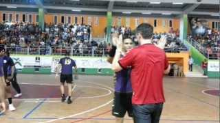 preview picture of video 'Renaissance de Berkane - Barbar 28 : 31; Arabian Handball Cup 2012; Coach Tonci / Barbar coach'