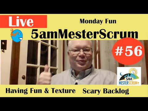 5amMesterScrum LIVE Show #56 with Scrum Master & Agile Coach Greg Mester