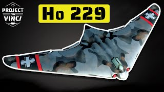 The Horten Ho 229: Secret German Jet-Powered Flying Wing Aircraft of WWII