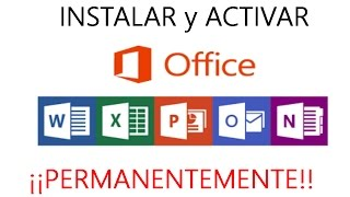 Descargar e Instalar Office 2013 full y activar permanente en Windows 7, 8, 8.1 y 10 | 32 y 64 bits