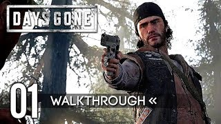 DAYS GONE – PART 1: First 2 Hours Gameplay Walkthrough 【Full Game / 1080p HD】