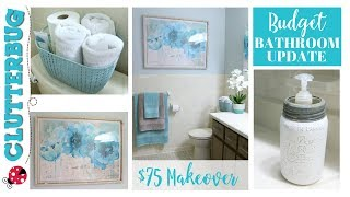 5 Decorating Tips To Update Your Bathroom On A Budget