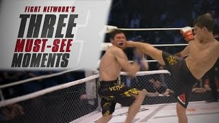 Top 3 Must-See Moments from M-1 Challenge 76: Evloev vs. Nevzorov