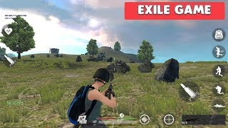 EXILE GAME - iOS / ANDROID GAMEPLAY - BATTLE ROYALE