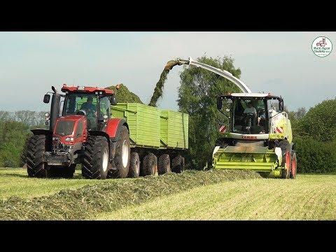 Grasernte Produktionskette vom Mähen bis zur Silage - Feldgras - Multi Agrar Claußnitz GmbH