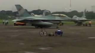 F-16 at Halim, Indonesia